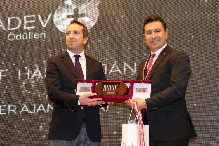 Başkan Aras, Türkiye'nin Pozitif Belediye Başkanı Seçildi