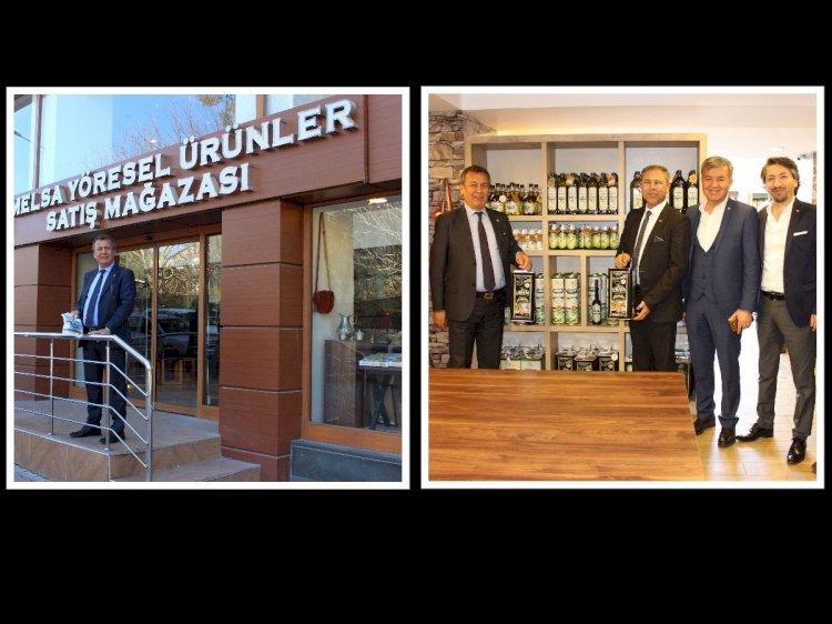 Muğla, Milas, Fethiye Ticaret Ve Sanayi Odası Başkanları Melsa'da