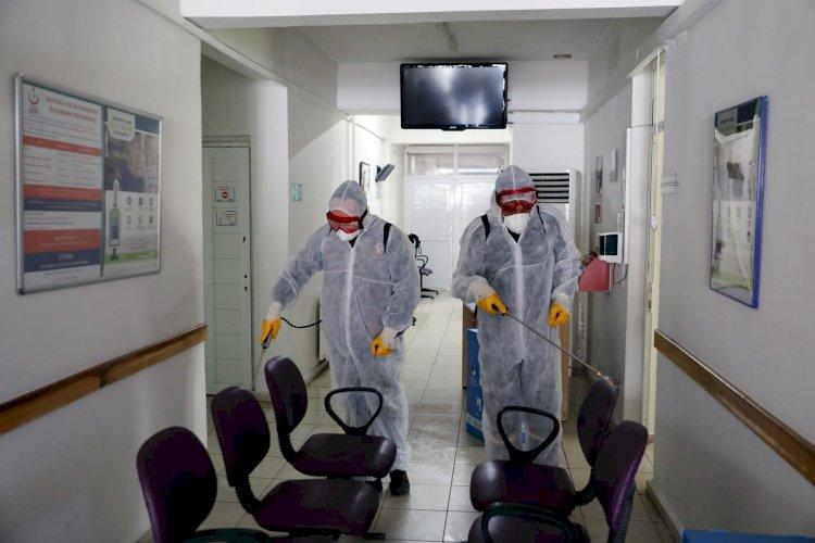 Dezenfekte ve İlaçlama Çalışmaları Sürüyor