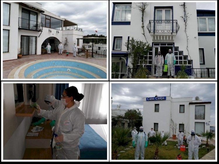 Bodrum'da Üç Otel Sağlık Çalışanları İçin Tahsis Edildi