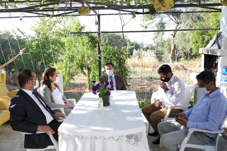 Şehit Ailelerine Anlamlı Ziyaret