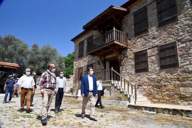 Stratonikeia; Kültür Varlıklarımızı Turizmin Hizmetine Sunmaya Hazırlanıyor