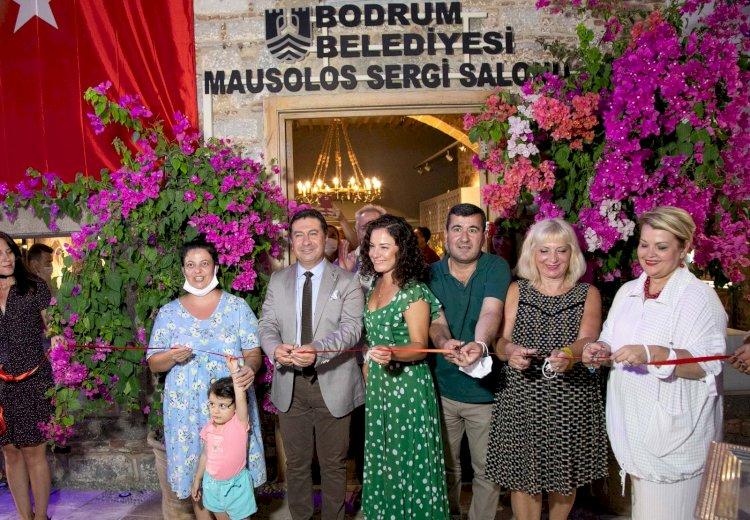 I.Artemısa Ve Mausolos Sergi Salonları Karma Sergi İle Açıldı