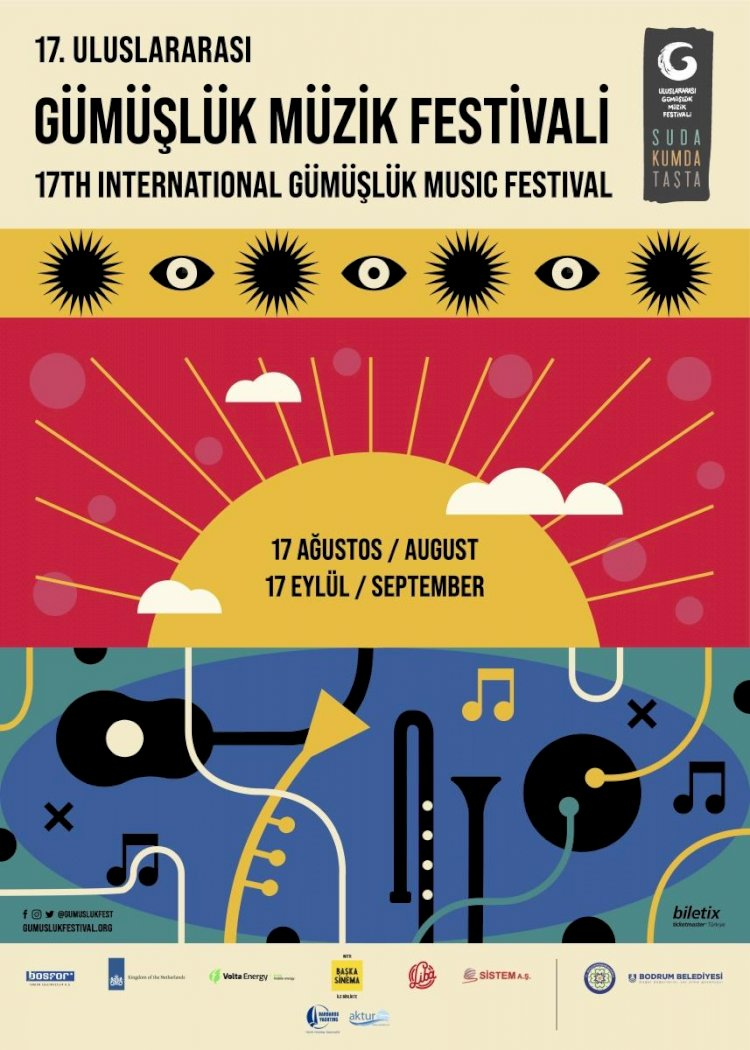 Türkiye'nin İlk Yeşil Festivali 17. Uluslararası Gümüşlük Müzik Festivali 17 Ağustos'ta Başlıyor