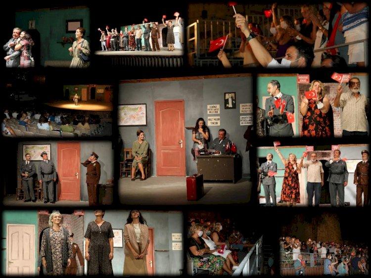 Bodrum Belediyesi Şehir Tiyatrosu, Sağlık Çalışanları İçin Sahnedeydi