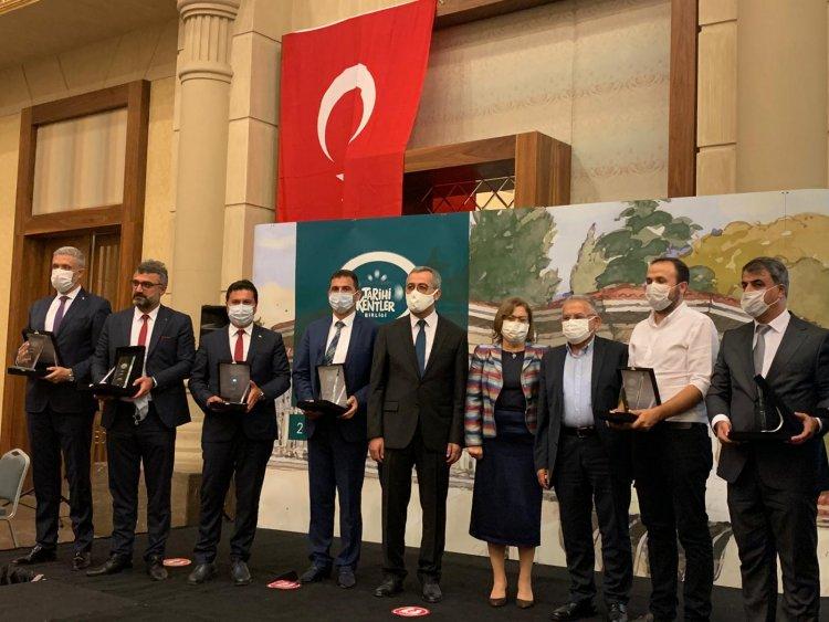 Tarihi Kentler Birliği Bodrum Kent Müzesi'ne Uygulama Ödülü Verdi