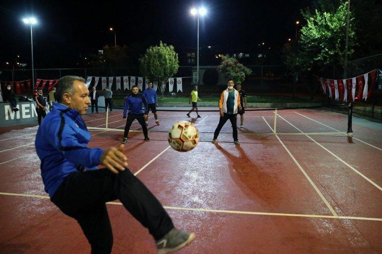 Menteşe Belediyesi Ayak Tenisi Turnuvası Başladı
