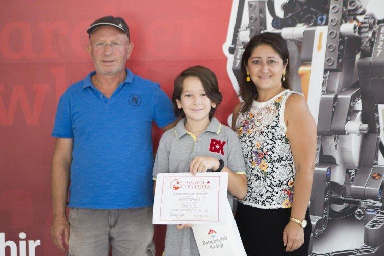 Mehmet DANACI Uluslararası Caribou Matematik Yarışması'nda Dünya Birincisi Oldu.
