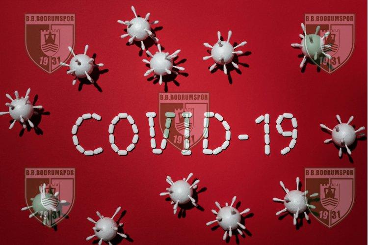 Bodrumspor'da Covid 19 Pozitif Şoku