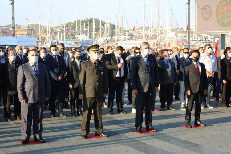 Bodrum 10 Kasım'da Atatürk'ü Andı