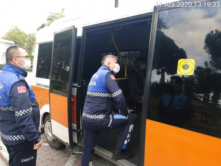 Toplu Taşıma Araçlarında Koronavirüs Denetimi Artırıldı