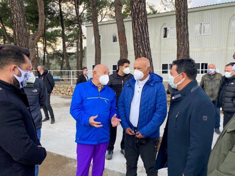 Tff Başkanından Bodrumspor'a Ziyaret