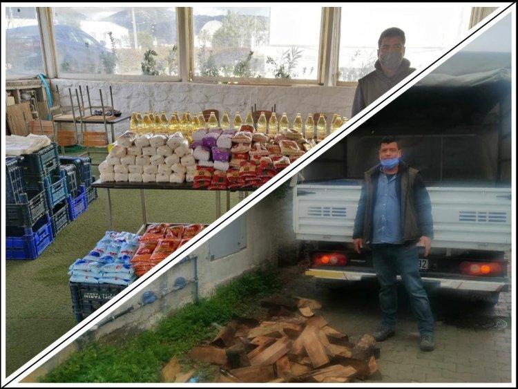 İşyeri Kapanınca Mahalleli İçin Çalışmaya Koyuldu
