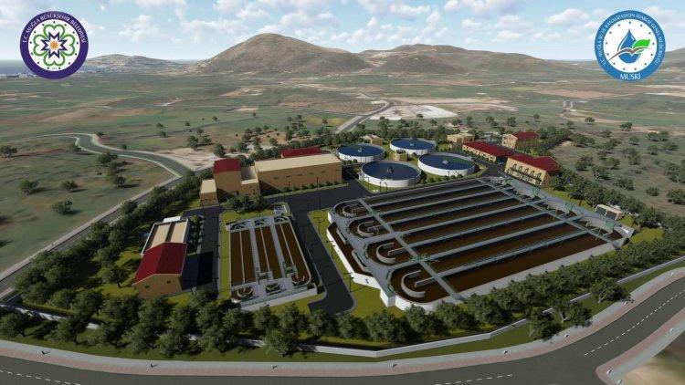 Bodrum'un En Büyük Arıtma Tesisinin İnşaatı Başladı