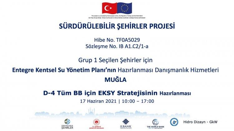 Entegre Kentsel Su Yönetimi Planı Çalıştayı