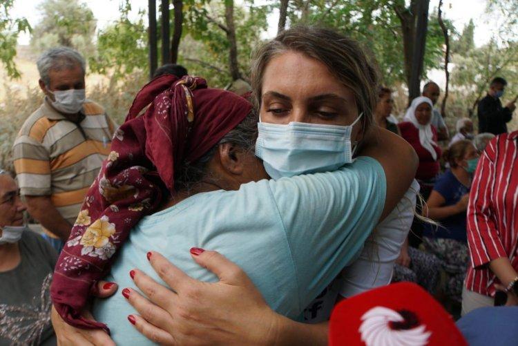 Dilek İmamoğlu'ndan Bodrum'a Dayanışma Ziyareti