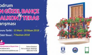 En Güzel Bahçe Teras Balkon Yarışması Başladı