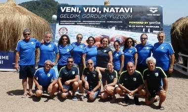 Bodrumspor Yüzücüleri, Marmaris'ten 44 Madalya Topladı